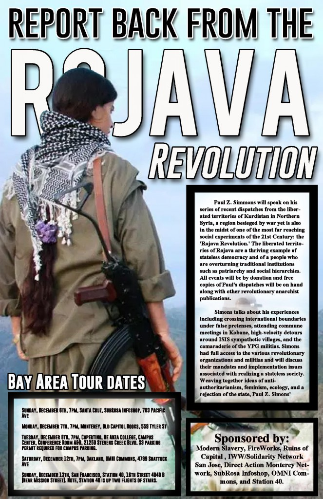 Rojava Revolution Bay Area Tour