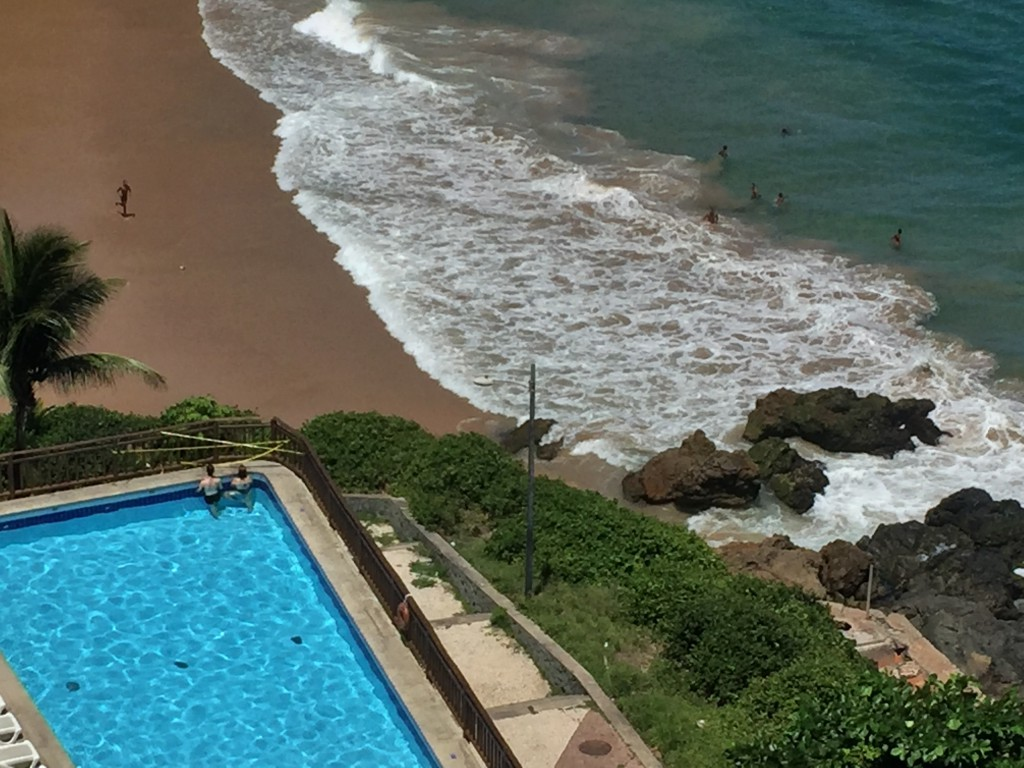El Errante -Brazilian hotel beach
